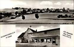 Postcard Hummerbruch Extertal in Nordrhein Westfalen, SB Geschäft Wilhelm Sommer