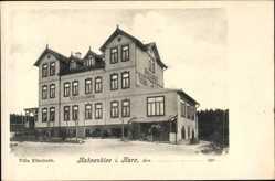 Postcard Hahnenklee Goslar in Niedersachsen, Blick auf die Villa Elisabeth