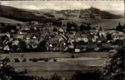 Postcard Oberviechtach Oberpfalz, Gesamtansicht des Ortes mit Umgebung