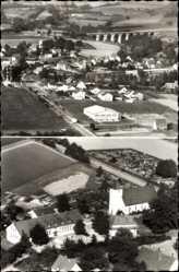 Postcard Exter Vlotho in Nordrhein Westfalen, Fliegeraufnahme von der Stadt
