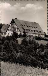 Postcard Vlotho Ebenöde Nordrhein Westfalen, Kinderkurheim des Landkreises Herford