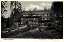 Postcard Altenau im Oberharz, Erholungsheim des Volkswagenwerkes