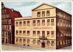 Künstler Ak Minden in Ostwestfalen Lippe, Hotel König von Preußen