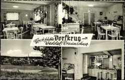 Postcard Weddel Cremlingen in Niedersachsen, Gaststätte Dorfkrug