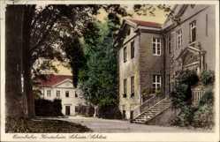 Postcard Schieder Schwalenberg im Kreis Lippe, Eisenbahnkinderheim