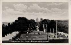 Postcard Eckartsberga an der Finne im Burgenlandkreis, Pionierferienlager Ostrowski