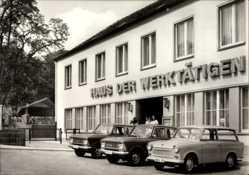Ak Aschersleben im Salzlandkreis, HO Gaststätte Haus der Werktätigen