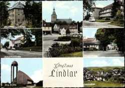 Postcard Lindlar im Oberbergischen Kreis, Schloss Heiligenhafen, Eichenhofstraße