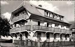 Postcard Höchenschwand Hochschwarzwald, Blick auf die Pension Linde
