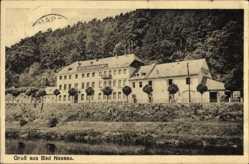 Postcard Nassau im Rhein Lahn Kreis, Blick auf das Hotel Nassauer Hof