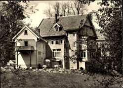 Postcard Hahnenklee Bockswiese Goslar, Haus Sonneck, Bes. H. Laar
