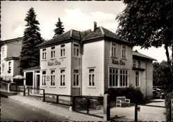 Postcard Hahnenklee Bockswiese Goslar, Pension Haus Elna, Bes. E. Köhler