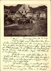 Postcard Gerolstein in der Eifel Rheinland Pfalz, Blick auf das Hotel Dolomit