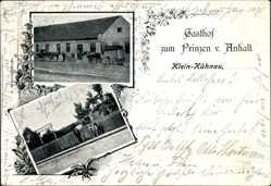 Postcard Kleinkühnau Roßlau Dessau in Sachsen Anhalt, Gasthof zum Prinzen v. Anhalt
