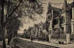 Postcard Bad Oeynhausen in Nordrhein Westfalen, West Corso, Villen
