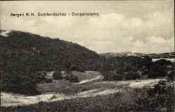 Postcard Bergen Nordholland Niederlande, Duinlandschap, Dunpanoramo, Dünen