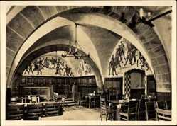 Postcard Wrocław Breslau Schlesien, Schweidnitzer Keller im Rathaus, Bauernkeller