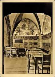 Postcard Wrocław Breslau Schlesien, Schweidnitzer Keller im Rathaus, In der Bucht