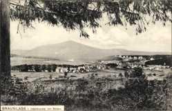 Postcard Braunlage im Oberharz, Blick auf den Ort von Süden, Berg, Felder