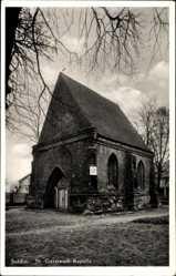 Postcard Myślibórz Soldin Pommern, St. Gertraudt Kapelle