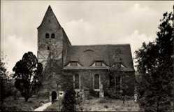Ak Gundorf Böhlitz Ehrenberg Leipzig, Ansicht Kirche aus dem 10. Jahrhundert