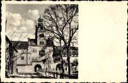 Postcard Prettin Annaburg im Kreis Wittenberg, Blick auf Schloss Lichtenburg