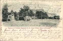 Postcard Dresden, Kaserne d. 2. Grenadier Regiments No. 101
