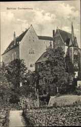 Postcard Frankenberg an der Zschopau, Blick auf Schloss Sachsenburg