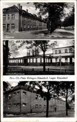 Postcard Rehagen Klausdorf Am Mellensee, Kaserne, Wirtschaftsgebäude