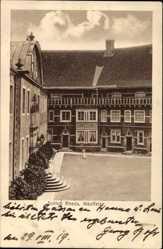 Postcard Rheda Wiedenbrück Kreis Gütersloh, Blick in den Schlosshof