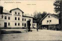 Postcard Liegau Augustusbad Radeberg, Luisenhof und Berghaus