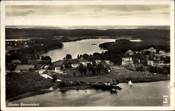 Alte Postkarte Himmelpfort Luftansicht 1936