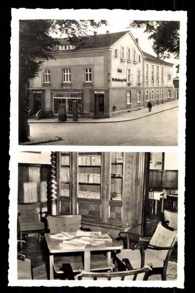 Ansichtskarte / Postkarte Feldberg Mecklenburg,  SVK Heim Mecklenburger Hof