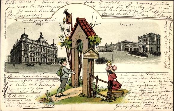post hannover bahnhof
