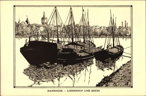 k nstler ak mannheim in baden w rttemberg lindenhof und. Black Bedroom Furniture Sets. Home Design Ideas