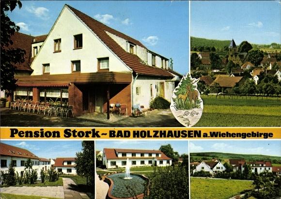 Ansichtskarte Postkarte Bad Holzhausen Preussisch Akpool De