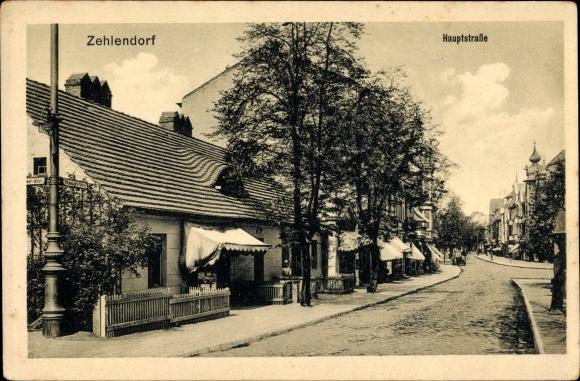 Ak Berlin Zehlendorf H User Und Gesch Fte In Der