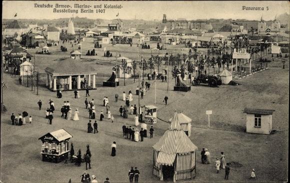 ansichtskarte postkarte berlin tiergarten moabit deutsche armee marine und kolonial. Black Bedroom Furniture Sets. Home Design Ideas