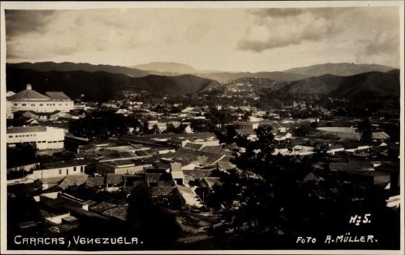 Foto Ansichtskarte Postkarte Caracas Venezuela Blick Akpool De