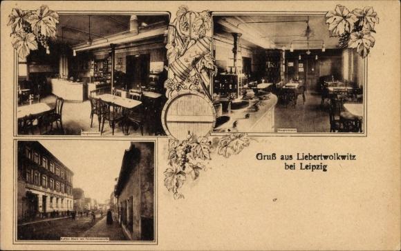 litho liebertwolkwitz leipzig in sachsen kaffee stern mit 1327251 ebay. Black Bedroom Furniture Sets. Home Design Ideas