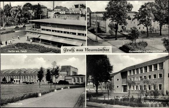 Schwimmhalle Neumünster postcard neumünster in schleswig holstein badeanstalt akpool co uk