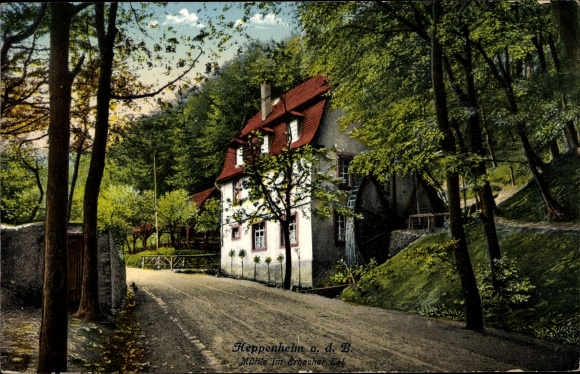 Hessen Mühle postcard heppenheim an der bergstraße hessen mühle im akpool co uk