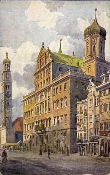 Künstler Augsburg künstler ansichtskarte postkarte marschall j augsburg akpool de