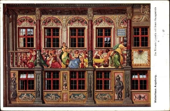 Künstler Augsburg künstler ansichtskarte postkarte augsburg in schwaben akpool de