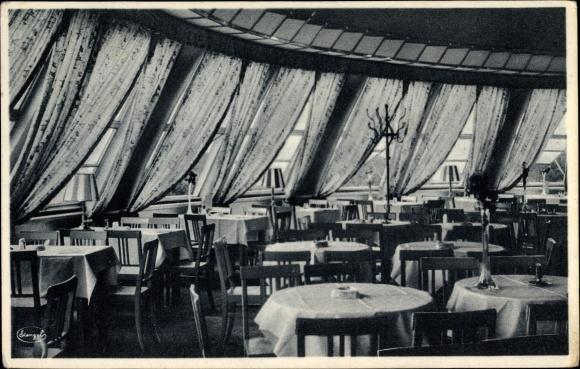 Ansichtskarte Postkarte Dresden Zentrum Altstadt Cafe Akpoolde