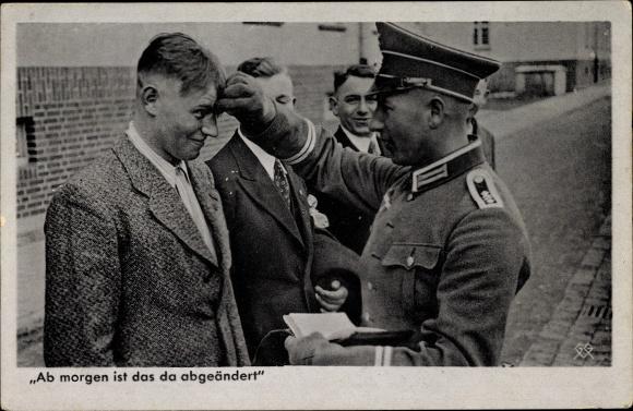 Ansichtskarte Postkarte Deutsche Wehrmacht Ab Morgen Akpool De