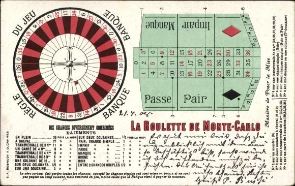 Roulette impair passe
