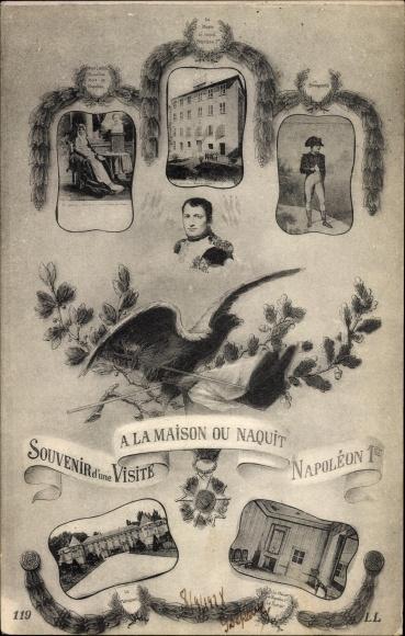 Carte Postale Ajaccio Corse Du SudSouvenir Dune Visite A La Maison Ou