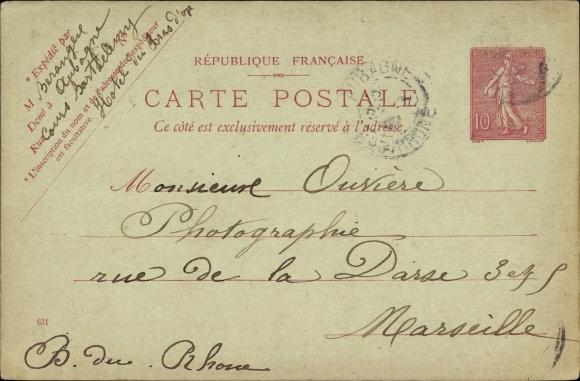 Carte Postale Francaise.Postal Card Postcard Frankreich 10 Centimes Akpool Co Uk