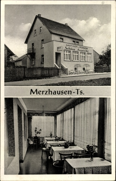 Ansichtskarte Postkarte Merzhausen Usingen In Hessen Akpool De